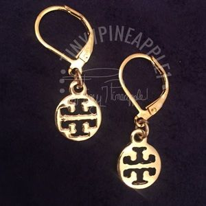 🌿🌹🌿 TORY BURCH CHARMS w/ GOLD PLATED EARRINGS